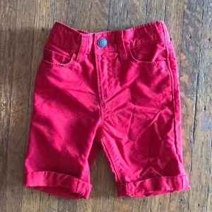 Red 2t shorts Old Navy